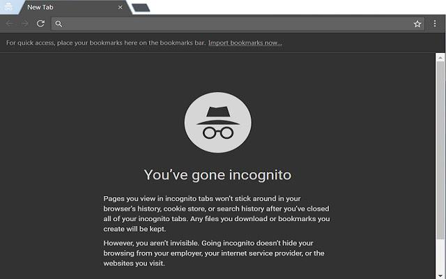 Chrome 隐身模式可能没有你想得那么能保护个人隐私
