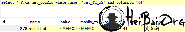 METINFO 6.1.2 SQL注入