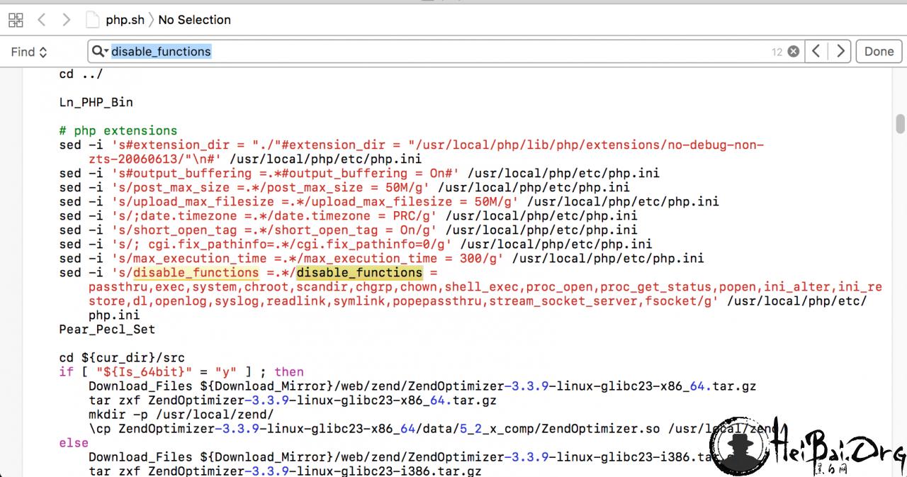LNMP虚拟主机PHP沙盒逃逸