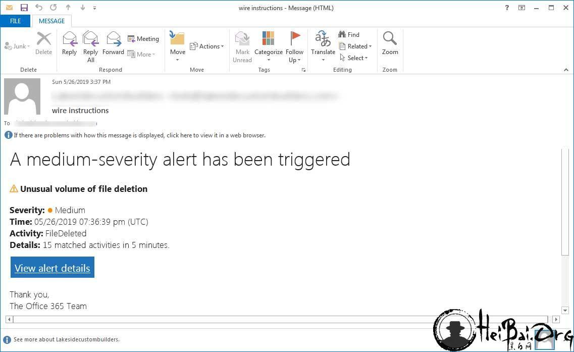 Office 365出现网络钓鱼,用户需多加注意