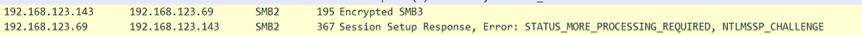Attacker 向exchange发送Session Setup Response流量