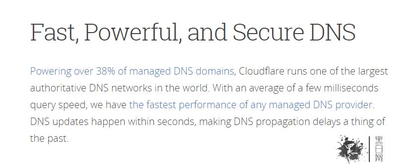 Cloudflare DNS选项